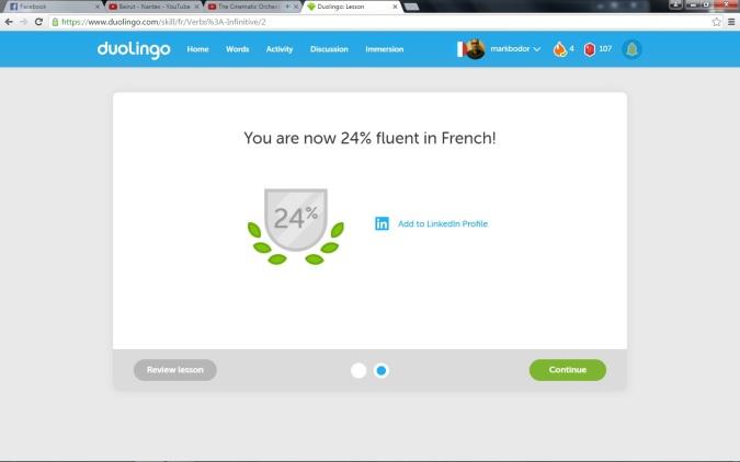 francia duolingo